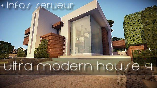 Ultra modern house 4 Minecraft Project