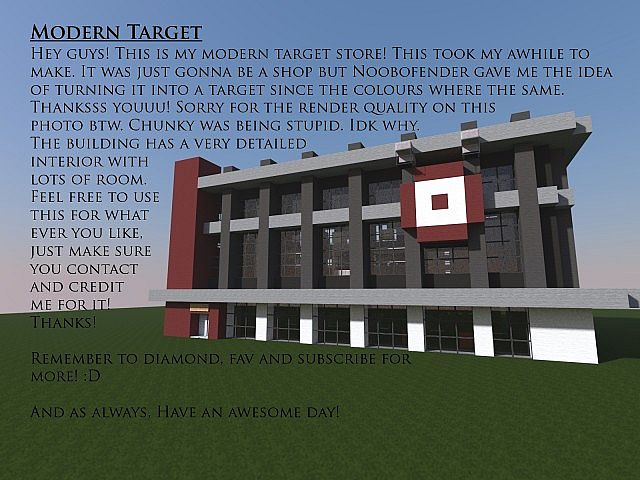 Modern target modern target store minecraft project for Craft com online shopping