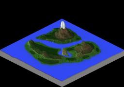 Mega Mountain World Minecraft Map & Project