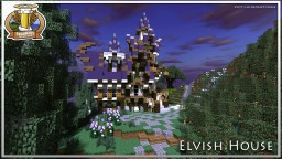 BdH Map 9 | Elvish House Minecraft Project