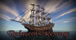 Ship: 'Redqueen's Revenge' Minecraft Map & Project