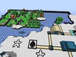 Super Mario 3 The Sky Minecraft Map & Project