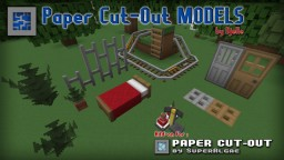 Paper Cut-Out Models v3.0 [Add-on] Minecraft Texture Pack