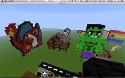 pixel art Minecraft