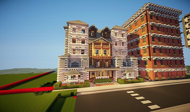 Victorian style apartment minecraft project for Victorian style apartment