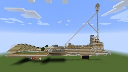 ICS Utvan | Air City | Steampunk Minecraft Map & Project