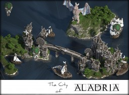 The City of Aladria [GothicPunk] | GT Minecraft Map & Project