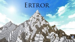 Ertror - Custom Terrain [Download] Minecraft Map & Project