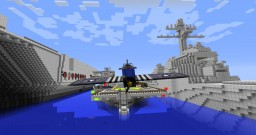 ARCHERON CLASS AIRCRAFT CARRIER Minecraft Map & Project