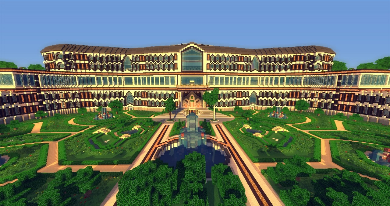 Mega Mansion From Davelouis213 And Leon19leon Minecraft