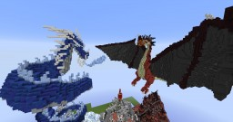 Typical Craft Creative Spawn [Dragons and Palaces] Minecraft Map & Project