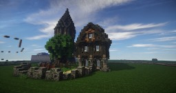 Medieval Sentry Post Minecraft Map & Project