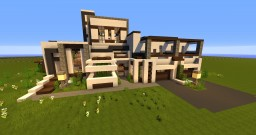 Modern Mansion by w4zz4b1w4r Minecraft Map & Project