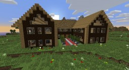 Wood Manison by Mar2ius Minecraft Project