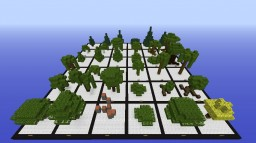 36 Custom Trees Minecraft Map & Project