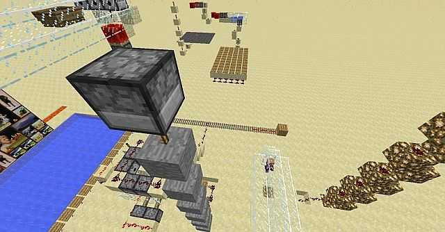 how to build a rube goldberg machine in minecraft pe