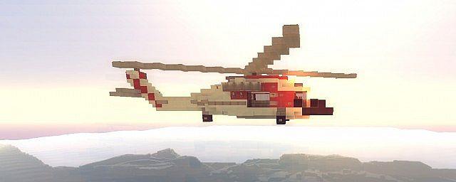 Coast Guard MH-60 Jayhawk Minecraft Project