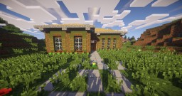 Small Traditonal House/Starter House Minecraft Map & Project