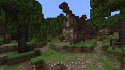 Wood Elven Village Minecraft Map & Project