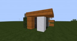 Modern Tiny House Minecraft Project