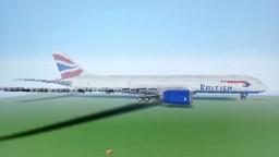Boeing 787-8 Dreamliner (British Airways) Minecraft Map & Project