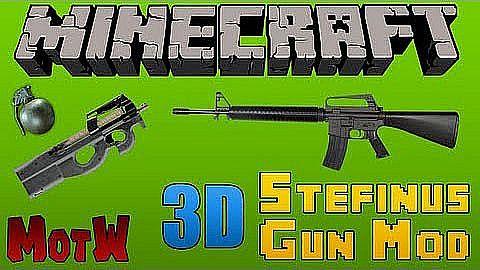 New Stefinus 3d Guns Mod