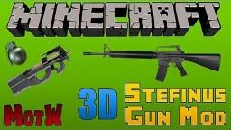 [1.7.10] [WIP] [FORGE] Stefinus 3D guns mod!! S3DGM!! Minecraft Mod