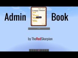 Admin Book Minecraft