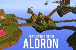 The Floating City of Aldron Minecraft Map & Project