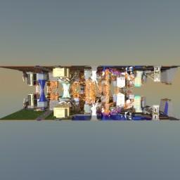 Armageddon New York 2115 - Upside Down/Mirrored City Minecraft Map & Project