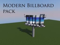 Modern Billboard Pack Minecraft