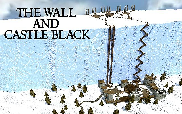 Castle black the wall minecraft project castle black the wall gumiabroncs Image collections