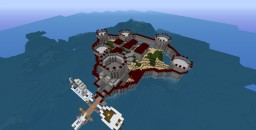 CASTLE PIRATE SHIP Minecraft Project