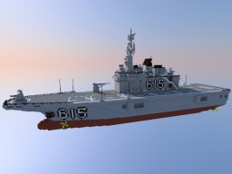 Amphibious Assault Ship (based on the ROKS Dokdo) Minecraft