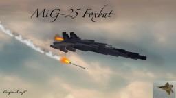 MiG-25 Foxbat Minecraft Map & Project
