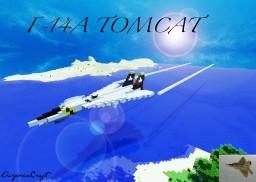 F-14a Tomcat Minecraft Map & Project