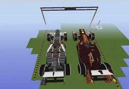 formula 1 cars Minecraft