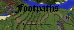 [Forge] [SSP/SMP] Footpaths: Creates natural paths where you walk often! Minecraft Mod