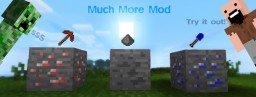 MUCH MORE MOD [forge] New Ores, New Food, And Much More! Minecraft Mod