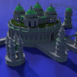 Serpentine evolution: the hydra palace Minecraft Map & Project