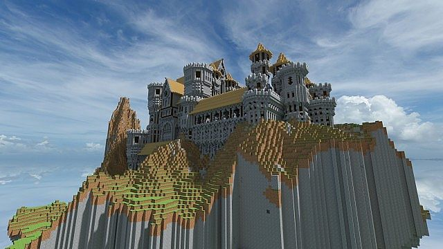Medieval Hill Top Castle Download Minecraft Project