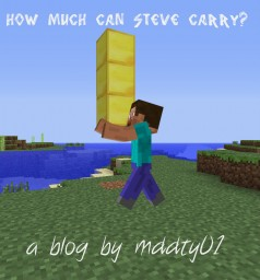 How much can Steve carry: a mathematical theory Minecraft Blog Post