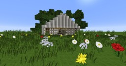 Half-Circle House Minecraft Map & Project