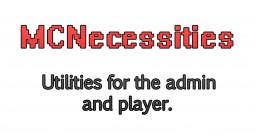MCNecessities 1.0.0 [Bukkit Plugin] Minecraft Mod