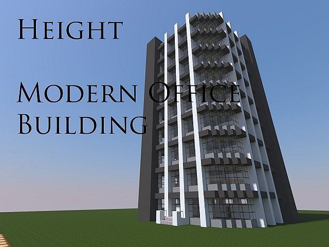 Height - Modern Office Building Minecraft Project