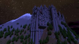 19th century mountain castle (pop reel) thx! Minecraft