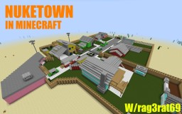 Nuketown Black Ops Minecraft Map & Project