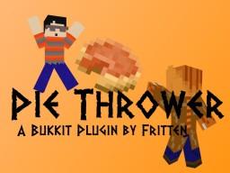 Pie Thrower Plugin! (1.7.9) Minecraft Mod