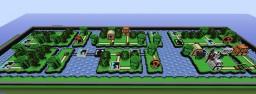 Super Mario 3 Pipe Maze Minecraft Map & Project