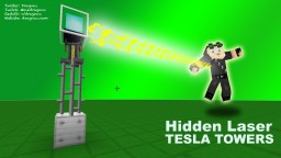 Placeable Laser Tesla Towers in Vanilla Minecraft 1.8 Minecraft Map & Project
